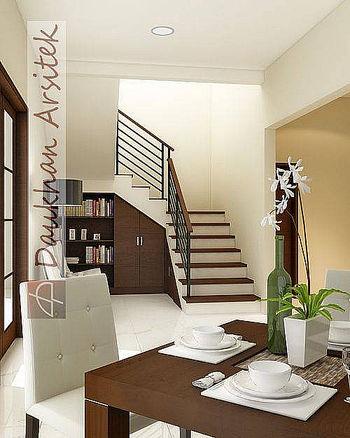 Sketsa 3D Interior Rumah Minimalis