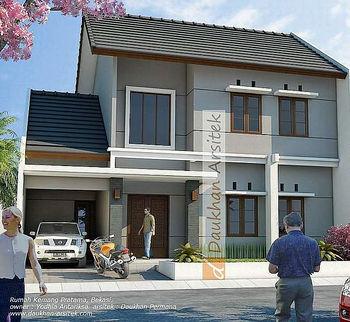 Sketsa 3D Rumah Minimalis