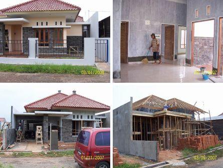 RANCANG BANGUN Rumah Kecil Minimalis di Jl. Bina Griya Pekalongan. arsitek: Daukhan Permana