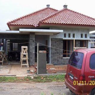 Tampak Depan Rumah Kecil