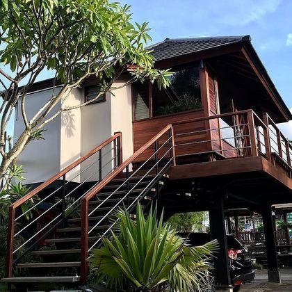 Bangunan Rumah dari Kayu