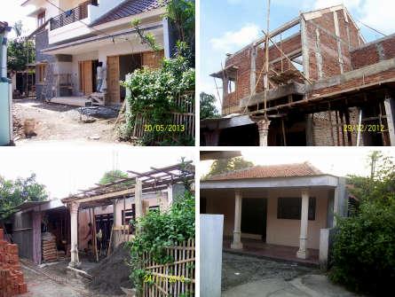Renovasi Rumah Tropis Minimalis di kota Bekasi