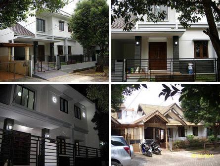 Renovasi Rumah Modern Minimalis di Kemang Pratama 2, kota Bekasi