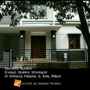 Renovasi Rumah Tropis Minimalis di Kemang Pratama2, kota Bekasi