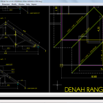 Shop Drawing Detil Kuda-kuda Kayu