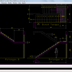 Shop Drawing Detil Tangga