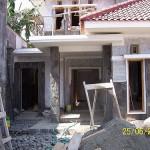 Tampak Depan Teras Utama Rumah