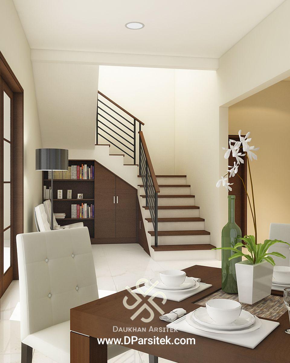 Sketsa 3D Interior Ruang Makan