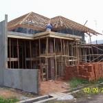 Pekerjaan Pemasangan Rangka Atap Kayu