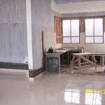Pekerjaan Pembuatan Meja Beton di Dapur