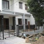 Pekerjaan Pemasangan Pagar Depan Rumah dengan bahan Besi Hollow