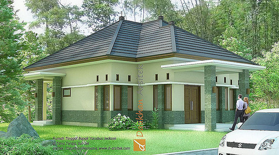 Desain Rumah Tropis Minimalis di Tana Toraja Sul-Sel
