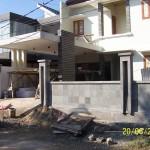 Fasad Depan dan Kanopi Beton