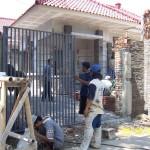 Pemasangan Pagar Besi Gerbang Depan
