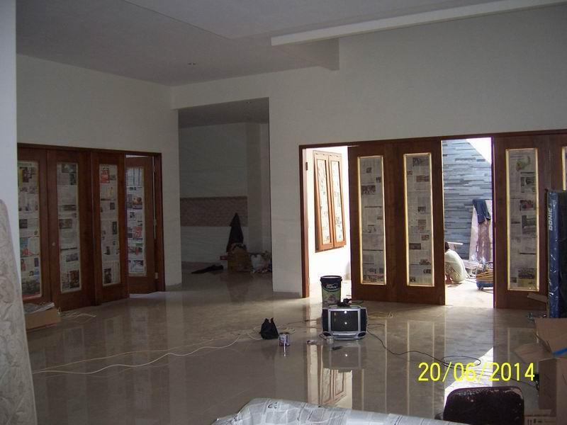 Pekerjaan Interior Ruang Keluarga