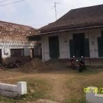 Tampak Depan Sebelum Renovasi Rumah Kuno Jaman Londo di Kertijayan Pekalongan