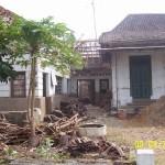 Tampak Depan [2] Sebelum Renovasi Rumah Kuno Jaman Londo di Kertijayan Pekalongan