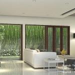 Gambar 3D Interior Ruang Makan dan Ruang Keluarga